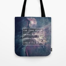 What Life Is All About - Doctor Who Tote Bag