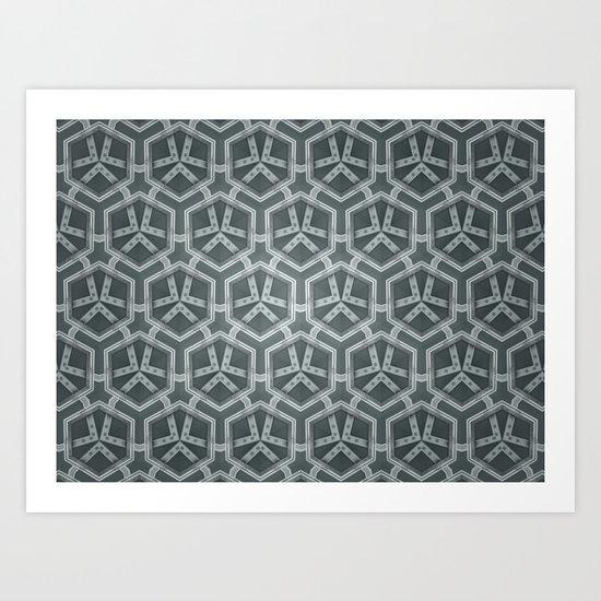 Kaleidoscope 006 Art Print