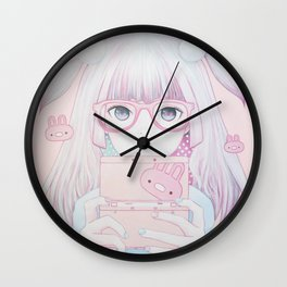 Gamer Girl 4 Wall Clock