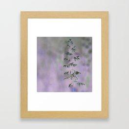 Grass invers Framed Art Print
