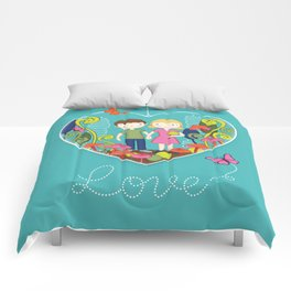 Terrarium For Two Comforters