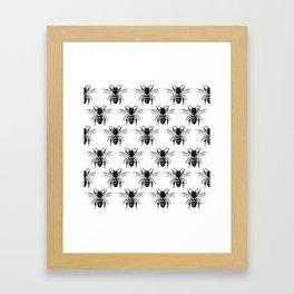 The Bee's Knees Black Framed Art Print