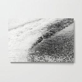 Turbulent Lake Water 6 Metal Print