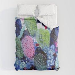 Evening Nopales Comforters