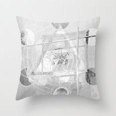 7°mono^Up Throw Pillow