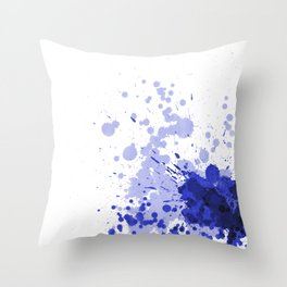 Passion Blue Throw Pillow