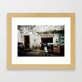 Tortilleria Rosario Framed Art Print