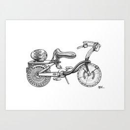 Menstrual Cycle Art Print