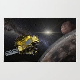 New Horizons space probe - Pluto flyby in action Rug