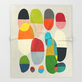Jagged little pills Throw Blanket