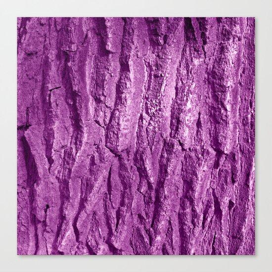 purple tree bark II Canvas Print