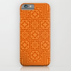 Orange Pattern Slim Case iPhone 6s
