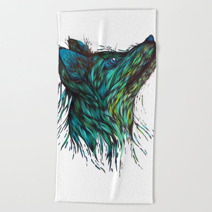 Sea Fox Beach Towel