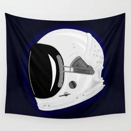 Astronaut Helmet Wall Tapestry