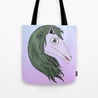 my little pony Tote Bags featuring My Little Pony by Josefina F. Vigó