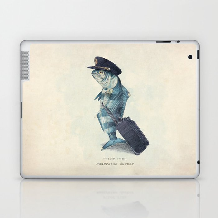 The Pilot Laptop & iPad Skin