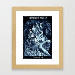 Arachne Framed Art Print