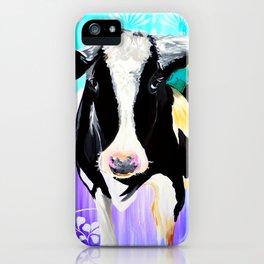 Divine Bovine iPhone Case
