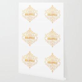 Gold Bibliophile Wallpaper