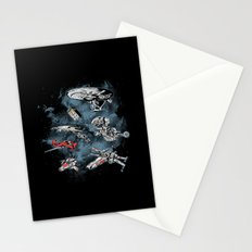 Ultimate Space Fleet Stationery Cards