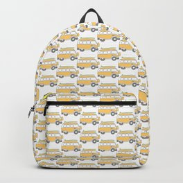 The Surf Life | Yellow Adventure Bus Backpack
