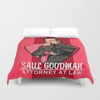 lawyer Duvet Covers featuring You need a lawyer? by Akyanyme