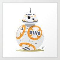 BB-8 Print Art Print