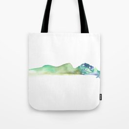 Fall of the Tree Goddess - Cool Tones Tote Bag