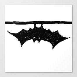 Bat friend Canvas Print