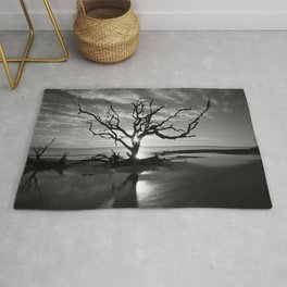 Tree at Sunrise Rug