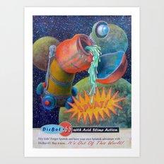 Splatnik Adventure Art Print