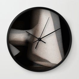 Ghostly Bodies Wall Clock