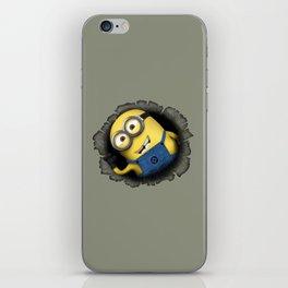 Surprise Minion iPhone Skin