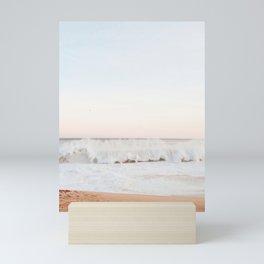 Beach Mood California Beach Mini Art Print