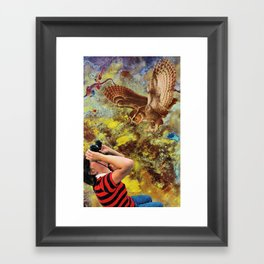 Bowels of Owls Framed Art Print