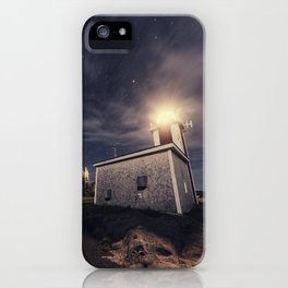 Point Prim Lighthouse iPhone Case