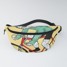 Westie on a Fixie Fanny Pack