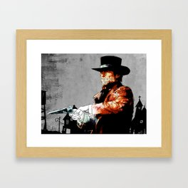 Preacher Framed Art Print