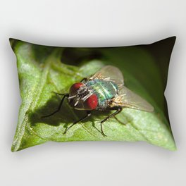 But A Fly Rectangular Pillow