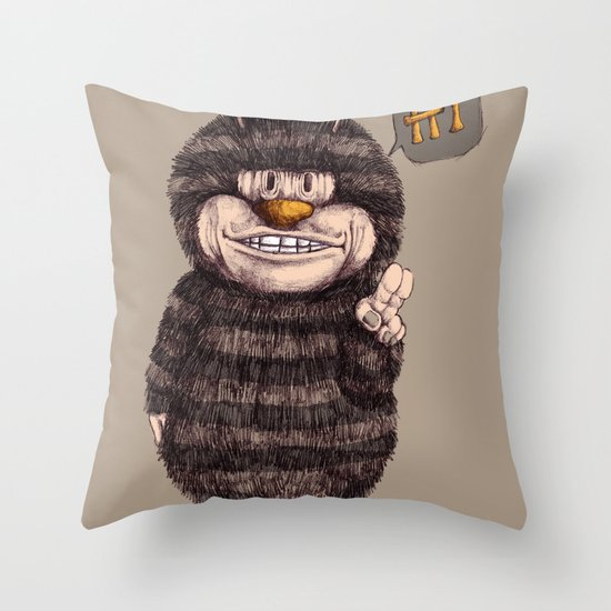 beeboy Throw Pillow