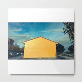 Yellow (amarillo) Metal Print
