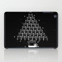 xmas iPad Cases featuring Catmas Xmas by Tobe Fonseca