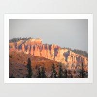 Dixie Cliffs Art Print