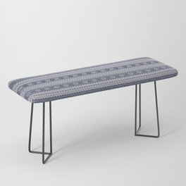 Granny's Fairisle Bench