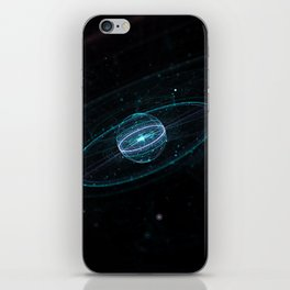 Space & Particles - GodEye 01 iPhone Skin
