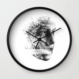Gaze lost Wall Clock