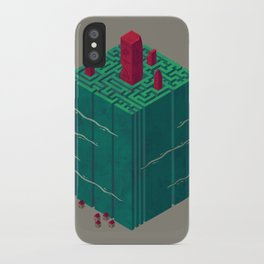 Within the Maze iPhone Case
