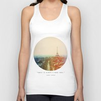 Iron Lady Unisex Tank Top