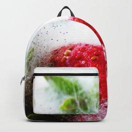 Strawberries in Focus Backpack