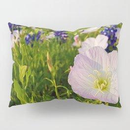 Pink Evening Primrose - Texas Wildflowers Pillow Sham